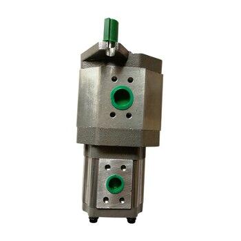Good quantity high pressure duplex gear pump CBQT-F540/F420-FAPR hydraulic oil pump high pressure gear oil pump cbt e316 hl constant flow hydraulic pump