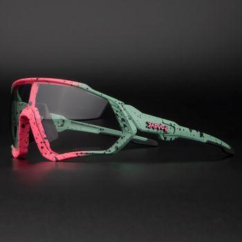 Photochromic ciclismo óculos de sol homem & mulher esporte ao ar livre óculos de bicicleta óculos de sol óculos de sol gafas ciclismo 1 lente 1