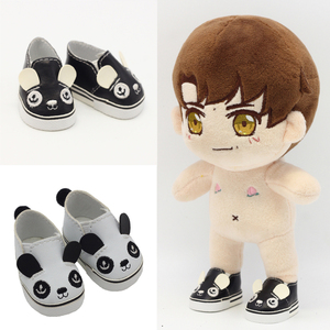 Image 2 - 5.5*2.8cm PU Cute Doll Strap 14 inch Shoes For 1/6 Doll EXO dolls fit 14.5inch girl dolls boots Clothing Accessories toys Boots