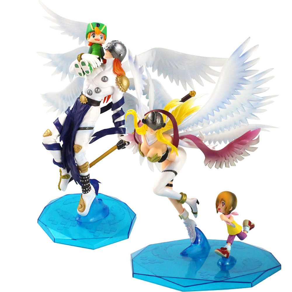Anime Digimon Adventure Angemon Angewomon Figure Takaishi Takeru Yagami Hikari Wizarmon Tailmon Action Figure Model Toy Dolls Action Toy Figures Aliexpress Like many angels from abrahamic scriptures, angemon has six wings. anime digimon adventure angemon angewomon figure takaishi takeru yagami hikari wizarmon tailmon action figure model toy dolls