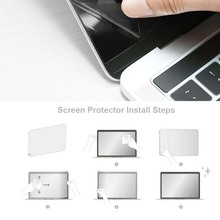 KK&LL For Apple Macbook Pro 15 inch A1286 (with CD-ROM) Crystal Clear Lcd Guard Film Screen film Protector