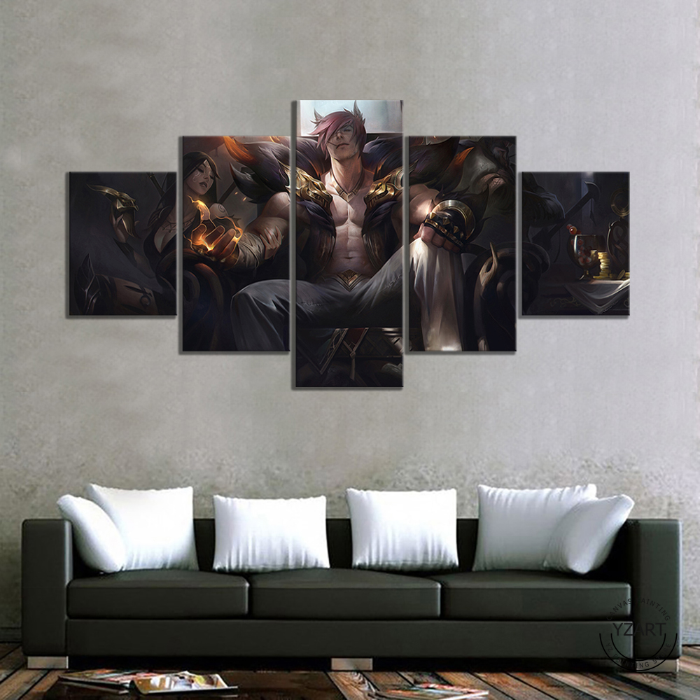 League Of Legends Sett Poster Modern Home Wall Decor Canvas Picture Art HD Print Painting On Canvas Artwork 2