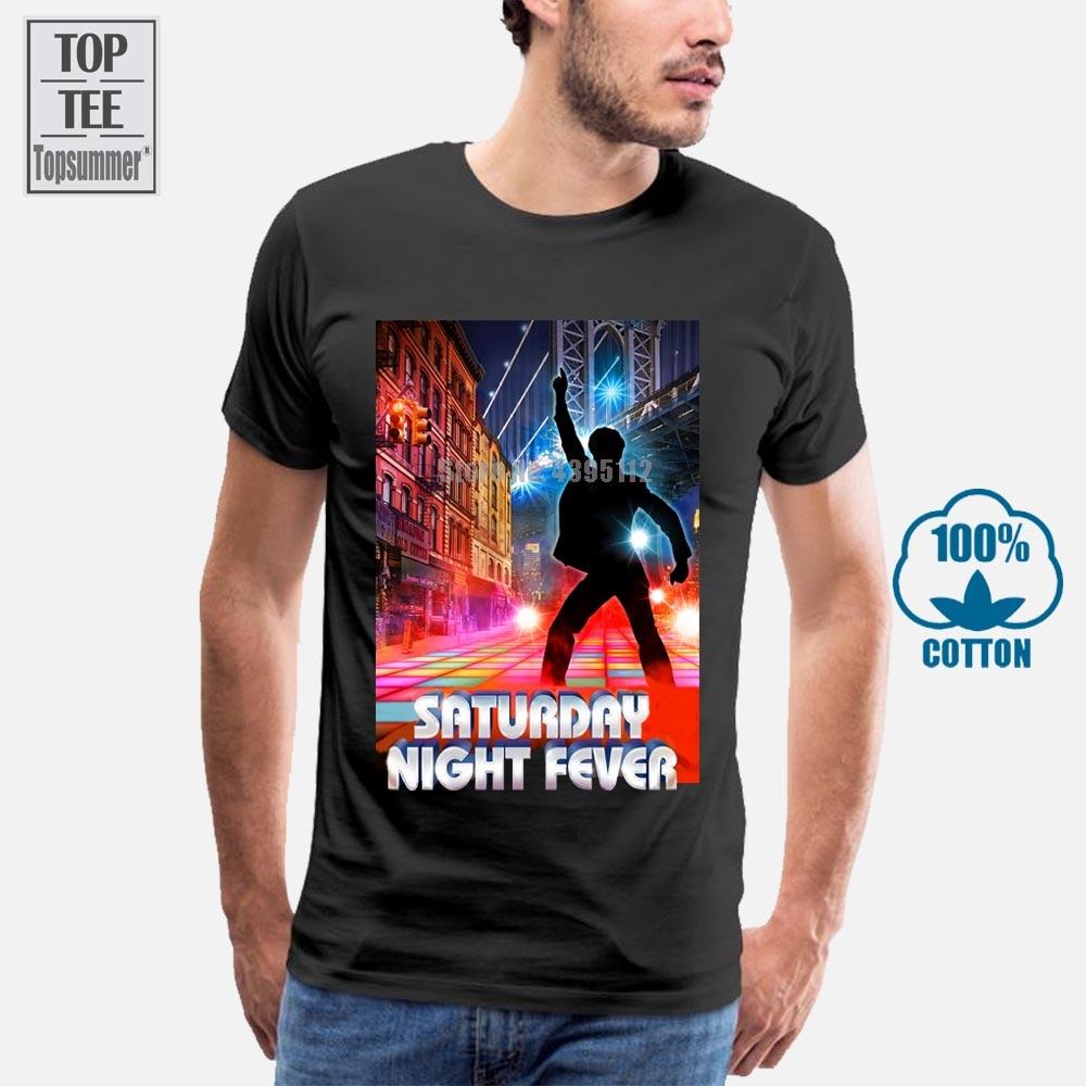 Saturday Night Fever Men Funny Tshirt Hip Hop Harajuku Tshirts Gym T Shirts Skull T-Shirt Xxxxl