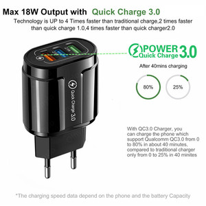 Блок питания Maerknon для USB устройства, 18 Вт, цвет белый/черный|Зарядные устройства для телефонов|   | АлиЭкспресс
