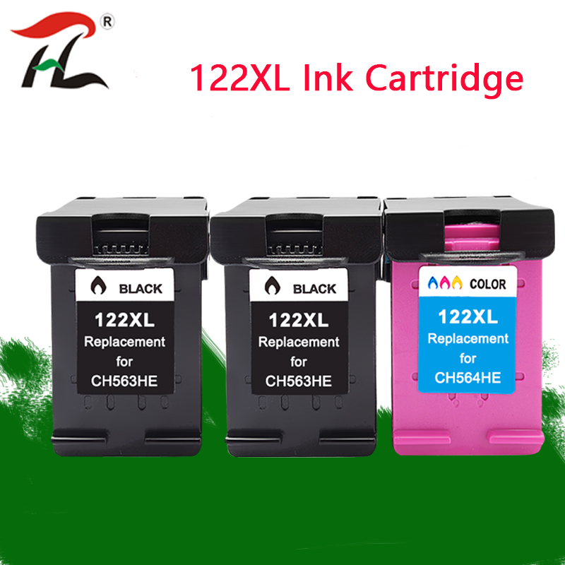 122XL compatible For HP122XL ink cartridges <font><b>HP</b></font> <font><b>122</b></font> XL hp122 For <font><b>HP</b></font> Deskjet 1000 1050 1050A 1510 2000 2050 3000 3050 Printer image