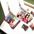 Серьги-подвески женские ручной работы, креативные забавные Висячие в стиле журнала аниме, крутые модные миниатюрные Мультяшные книги в сти...