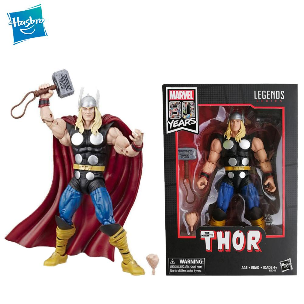 Marvel Legends Series Marvel 80th Anniversary Thor 6 inches (152mm) high Movable figure figure boy toy gift Avengers