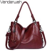 Роскошные женские сумки из мягкой кожи с кисточками, дизайнерские сумки высокого качества, женские сумки через плечо, ручные сумки шопперы для женщин 2020