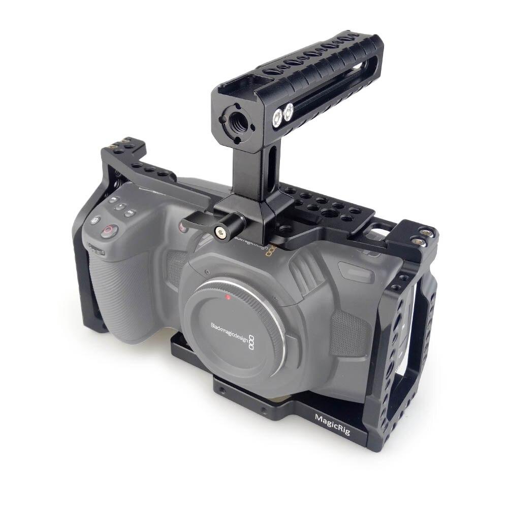 Rig Bmpcc 4k Cage Kit For Blackmagic Design Pocket Cinema Camera 4k With Handle Ebay