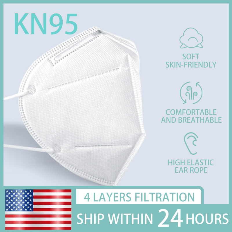 50 pcs Ship To USA n95masks facemasks kn95mask mascarilla reusable(China)