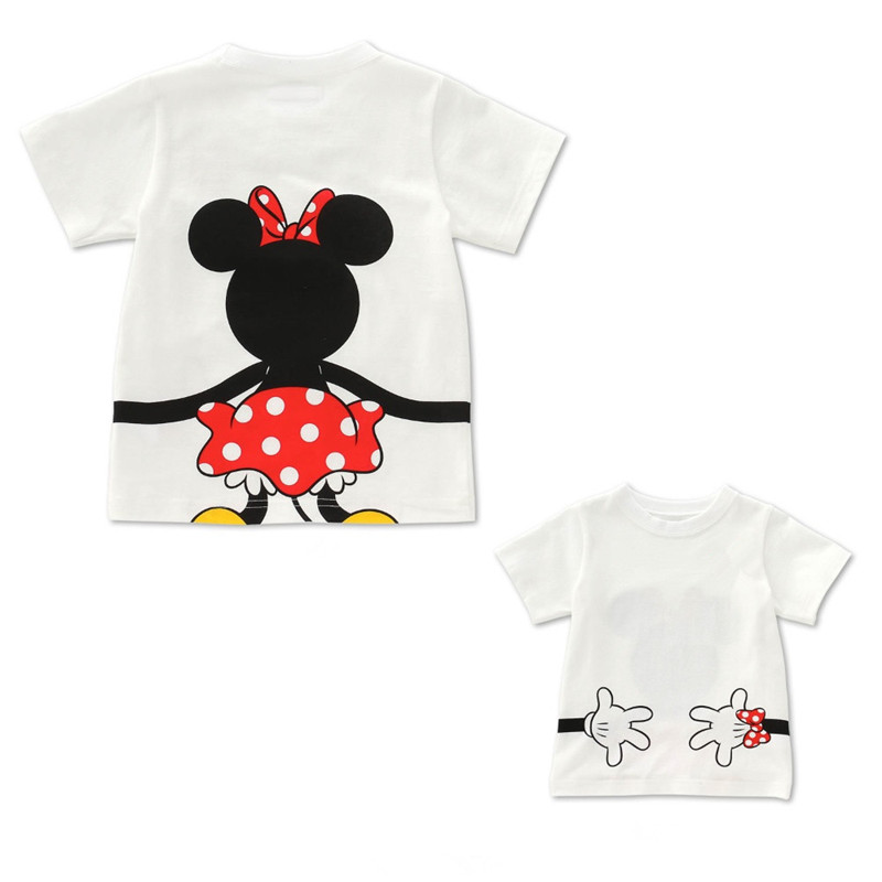 Family Matching Clothes mommy and me T shirt Summer Dad and Me Clothes Baby Girls T shirt Boys Cotton Top Mom and me Clothes in Matching Family Outfits from Mother Kids