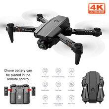 NYR 2020 Новый мини дрона с дистанционным управлением XT6 4K 1080P HD двойной Камера Wi-Fi FPV воздушный Давление удержания высоты складной Квадрокоптер ...