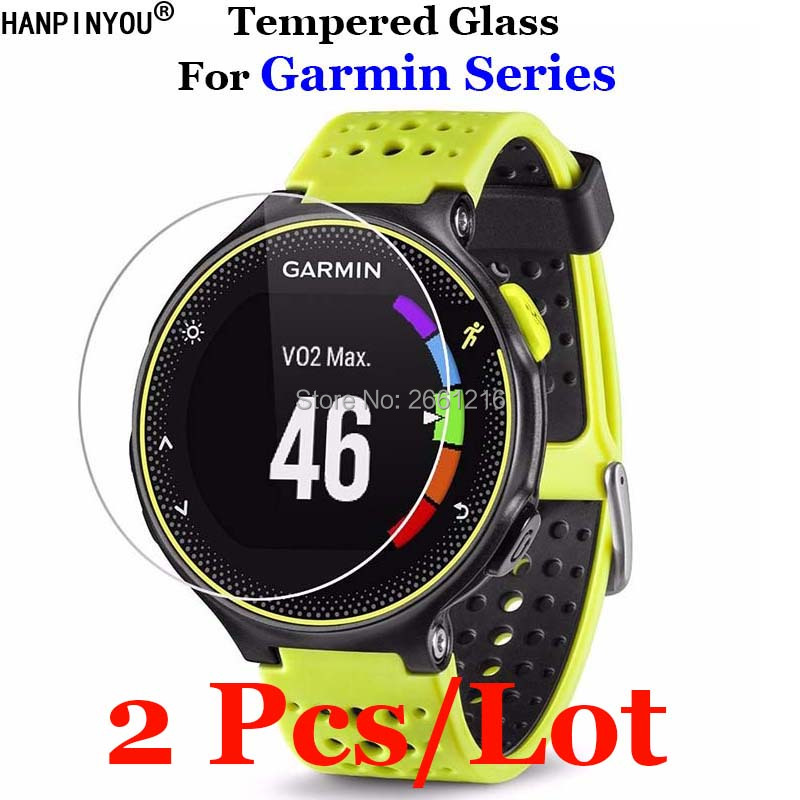 2Pcs For Garmin Forerunner 235 225 230 630 245 645 Music 735XT 935 945 45 45S Tempered Glass Premium Screen Protector Watch Film