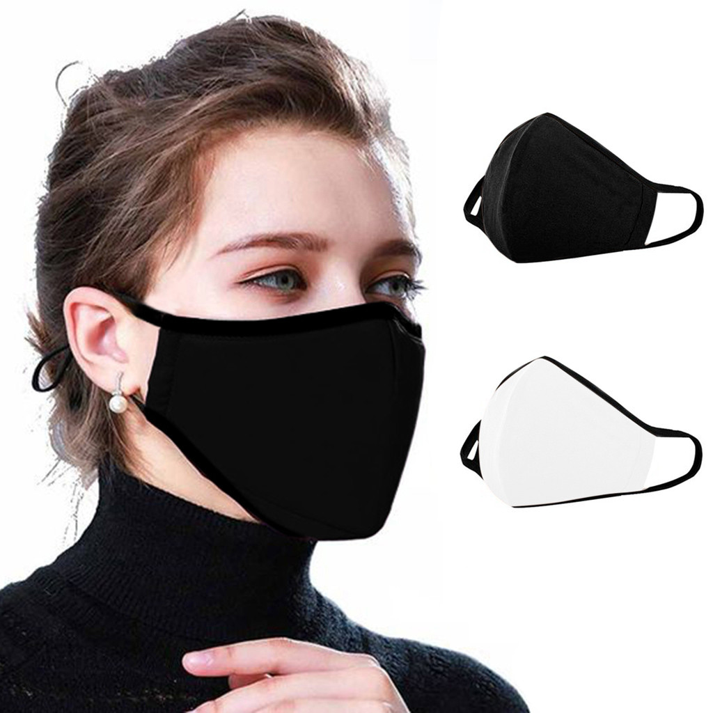 Anti Dust Ride Face Mask Washable Reuse Face Mask Activated Carbon Filter Windproof Mouth-muffle Bacteria Proof Flu Face Masks