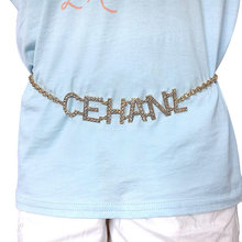 StoneFans Sequins Belly chains Waist Chain Body Jewelry Women Sexy Body Chain Vintage Paillette Charm Body Chain Jewelry(China)