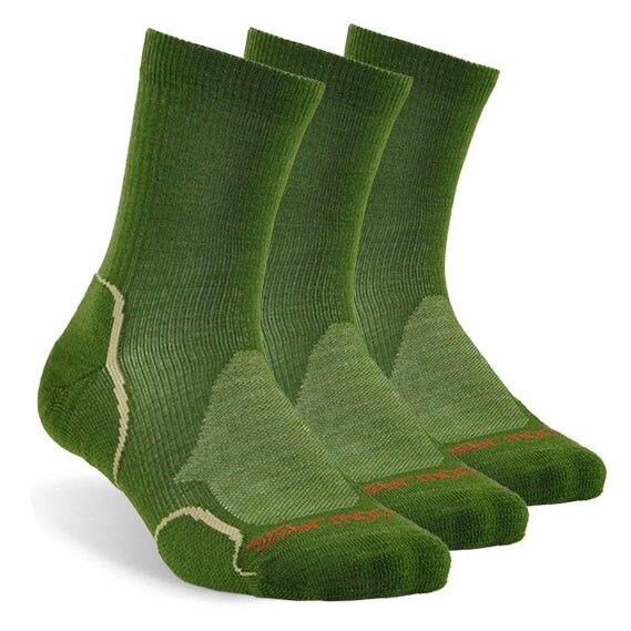 3 pair dark green
