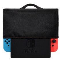 Tkanina Oxford osłona przeciwpyłowa, miękka, schludna podszewka osłona przeciwpyłowa, odporne na zadrapania wodoodporna pokrywa rękaw do przełącznika Nintendo stacja do ładowania