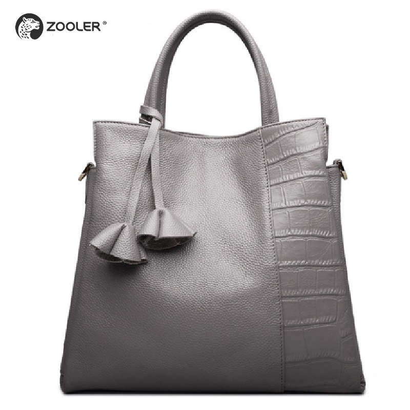Real Genuine Leather Women Shoulder Bag High Quality Designer Leather Handbag Female Big Tote Ladies Hand Bags Hot for Women#926
