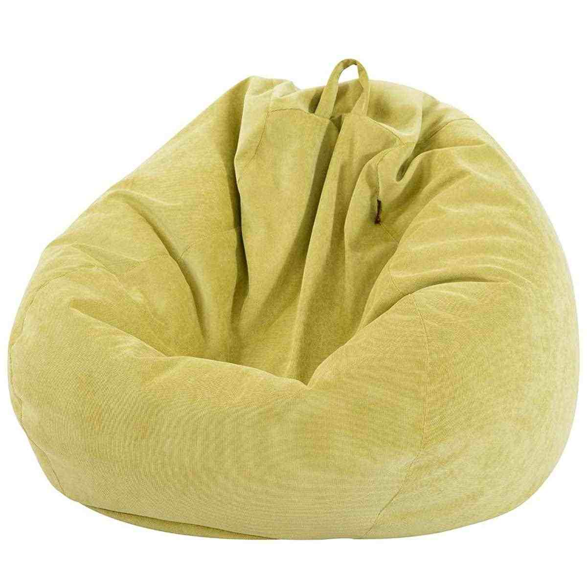 70x80cm Lazy Sofas Cover Chairs Cover with Inner Liner Warm Corduroy Lounger Seat Bean Bag Pouf Puff Couch Tatami Living Room