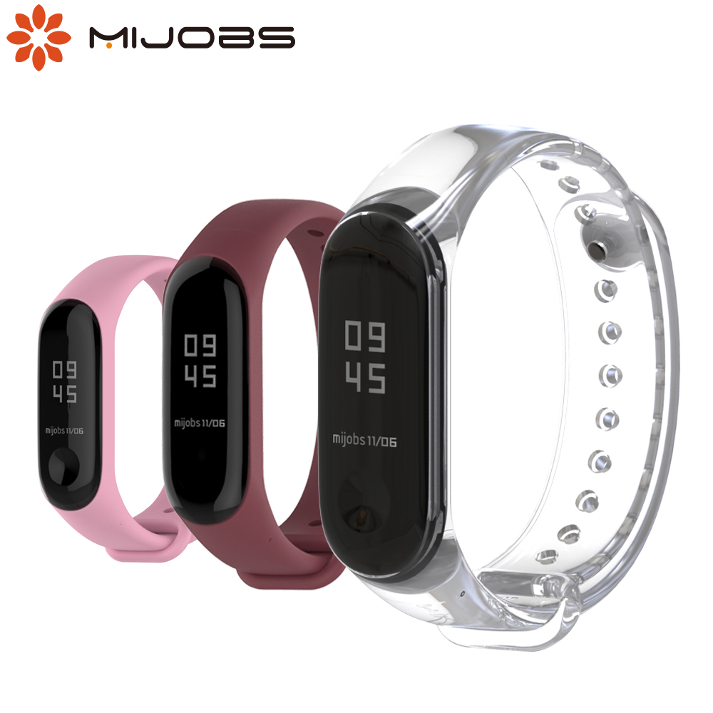 For Xiaomi Mi Band 4 Strap Silicone Wrist Bracelet For Mi Band 4 Smart Wristbands Accessories For Xiaomi Band 3 Global Version