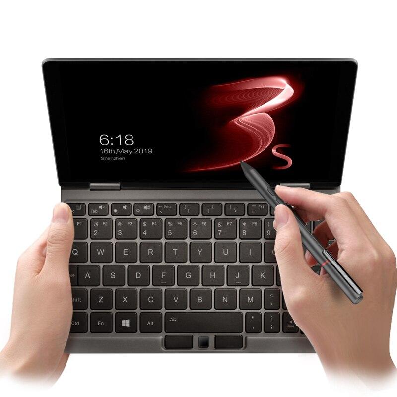 Nouveau un Netbook One Mix 3S platine Editie Yoga poche ordinateur portable Intel Core i7-8500Y double-Core 8.4 IPS écran 16G 512G WIFI Type C