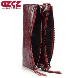 Image 4 - Fashion Wallet Women Wallet Female Purse Genuine Leather Design Female Purse Money Handbag Case Phone Pocket Carteira Feminina