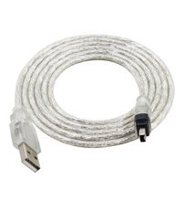 Free shipping 5feet USB usb 2.0 Data cable Firewire IEEE 1394 for MINI DV HDV camcorder to edit pc