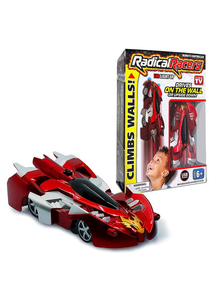 Radical Racers Climbing Cars Remote Controlled Wall-Climbing Car Racers Electric Climbing Cars Toys For Children Boys Gift
