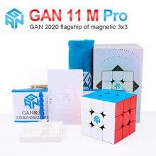 Gan 11 m pro 3x3x3 magnético magia velocidade gans cubo profissional ímãs cubos de quebra-cabeça gan11m brinquedos para crianças gan11 m pro