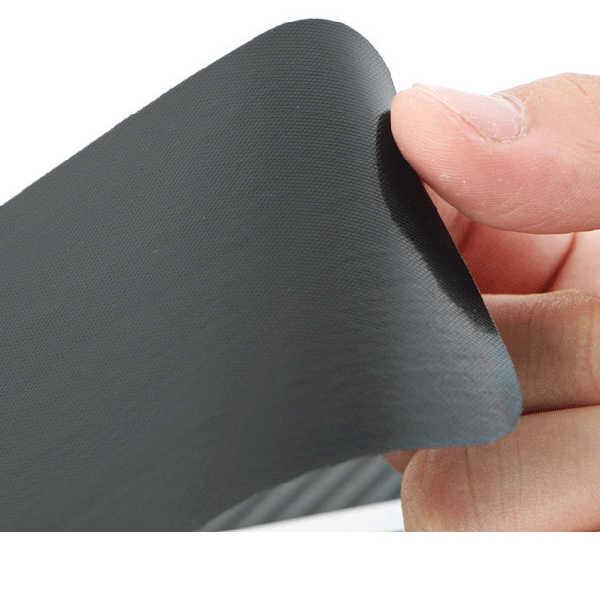 Autocollant universel de décoration de protection de film résistant aux rayures de fibre de carbone de poignée de porte automatique