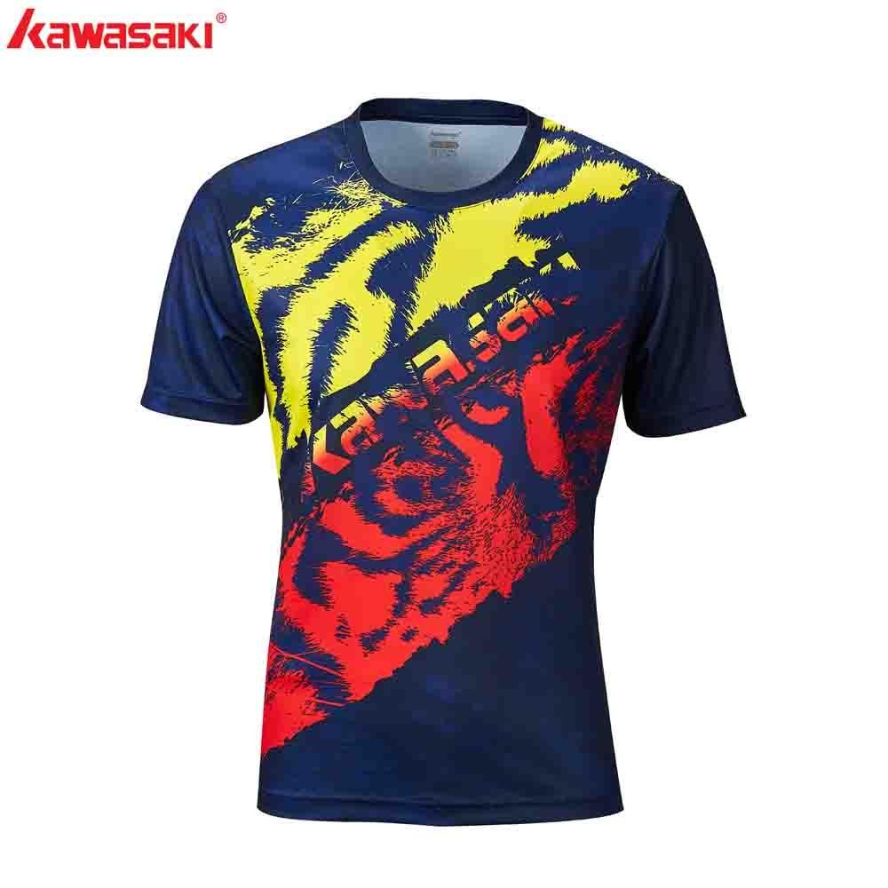 2020 Kawasaki Badminton T-Shirt Men Tennis Shirt Quick Dry Short-Sleeve Training Special Price Shirts For Male ST-R1242,ST-R1243