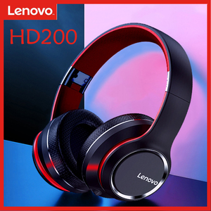 Lenovo HD200 Wireless Bluetooth Headset Head-mounted Gaming Sports Running Headset Computer/Phone Intelligent Noise Reduction