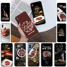 Испанский Iberico Ham Телефон чехол для Xiaomi Redmi note 4 4X 8T 9 9s 10 K20 K30 cc9 9t pro lite max