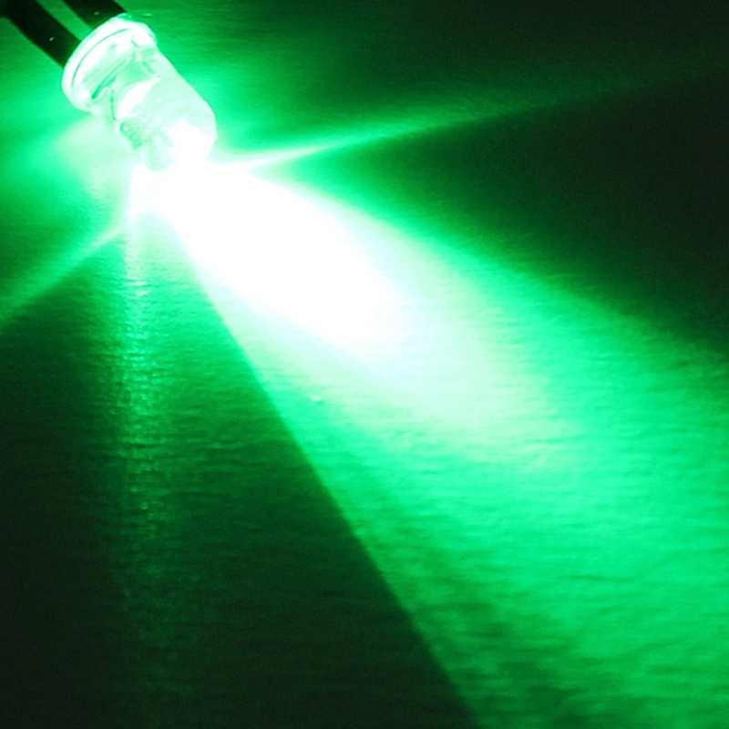 10 ピース/ロット DIY Led ライトダイオード 5 ミリメートル Led ライトランプ電球配線済み発光ダイオード Diy のホームデコレーション DC12V 20 センチメートルプレ配線