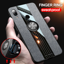 New 2019 Finger Ring Stand Car Holder Case For Xiaomi Redmi Note 7 Back Cover Shock-proof Phone