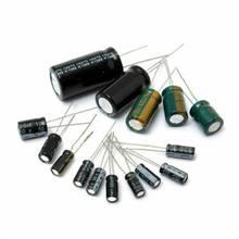120 шт/компл черный алюминиевый электролитический набор различных