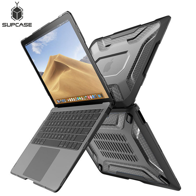 SUPCASE UB Slim Rubberized TPU Bumper Cover For MacBook Air 13 Case (2020 2018 Release) A1932 A2179 with Touch ID&Retina Display