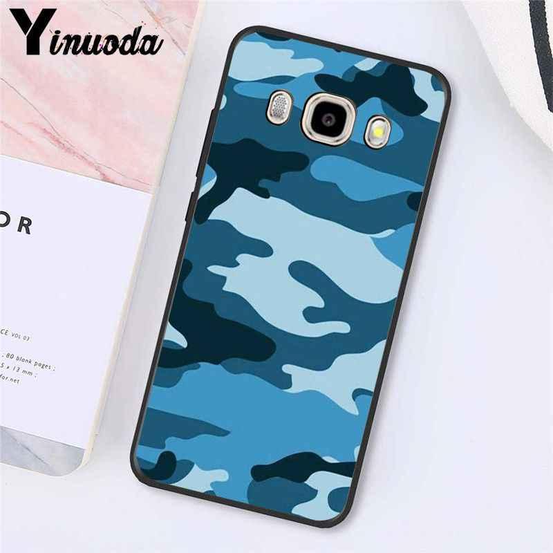 Yinuoda Camouflage motif Camouflage militaire armée étui de téléphone pour Samsung Galaxy J7 J6 J8 J4 J4Plus J7 DUO J7NEO J2 J5 Prime