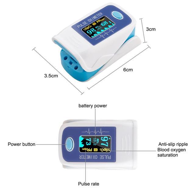 Portable fingertip pulse oximeter