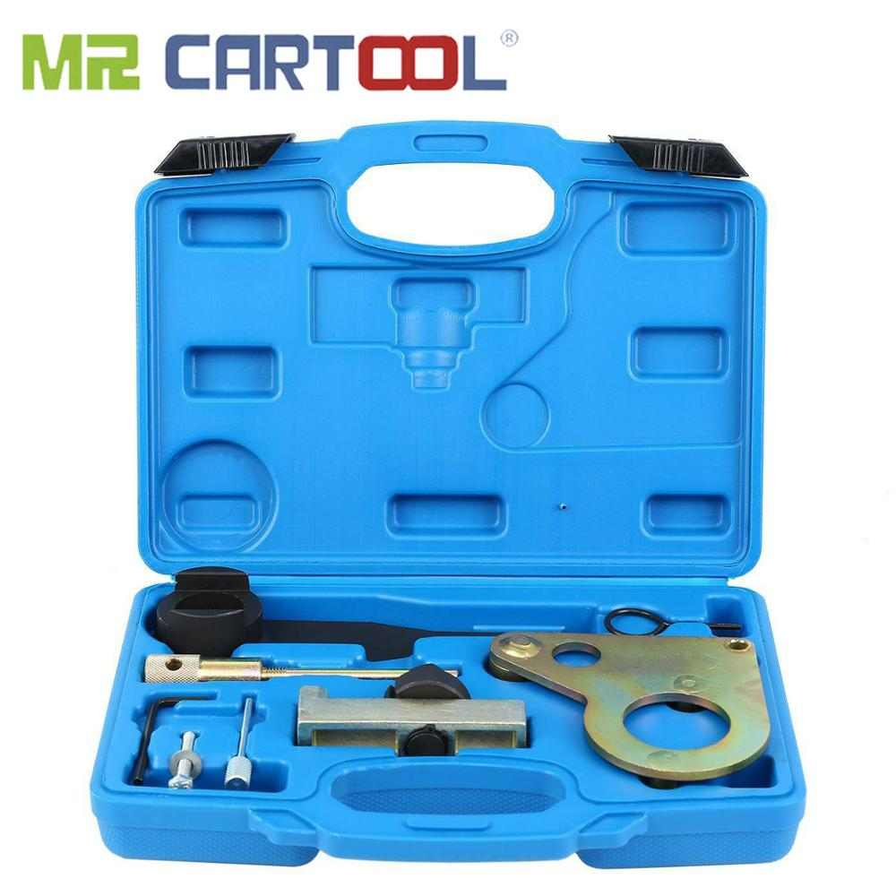 MR CARTOOL Diesel Engine Camshaft Timing Setting Locking Tool Set Kit For Nissan Renault 2.0 DCi Vauxhall Opel M9R Chain Drive