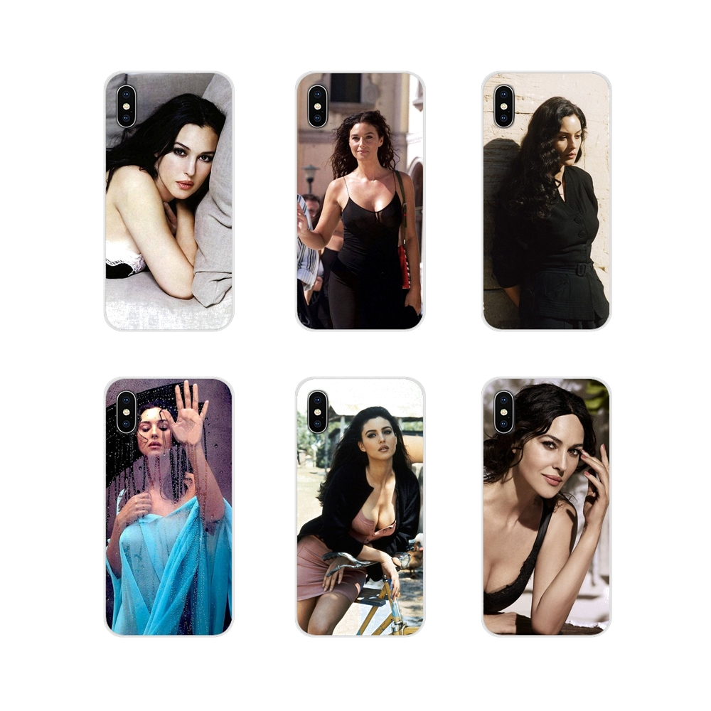 Accessories <font><b>Phone</b></font> Shell Covers monica bellucci <font><b>Sexy</b></font> Malena For Huawei Mate <font><b>Honor</b></font> 4C 5C 5X <font><b>6X</b></font> 7 7A 7C 8 9 10 8C 8X 20 Lite Pro image