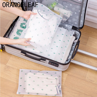 2019 Travel Accessories Cactus Organizers PVC Luggage Clothes Classified Organizers Bags Packing Shoes Cosmetic Towel Pouch Case