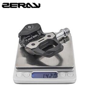 Image 5 - ZERAY pédales de vélo de route 30% en Fiber de carbone avec crampons ZP 110 Compatible avec LOOK KEO roulements autobloquants accessoires de vélo