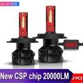 BAISHIDE H4 светодиодный H7 H11 светодиодный H8 HB4 9006 H9 9005 HB3 автомобильные лампы для фар машины 60 Вт 20000LM автомобильные аксессуары 6000 К CSP светодиодны...