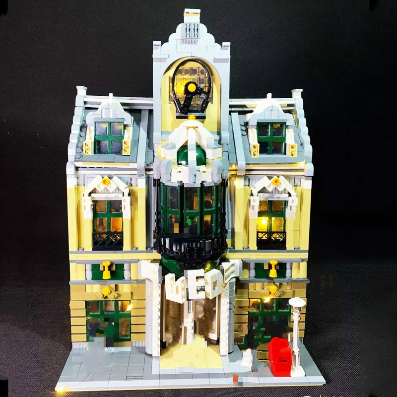ZHEGAO QL0922 Creator MOC Stree View Series European Mall Building Blocks 2039pcs Bricks Toys Sets Compatible Creator
