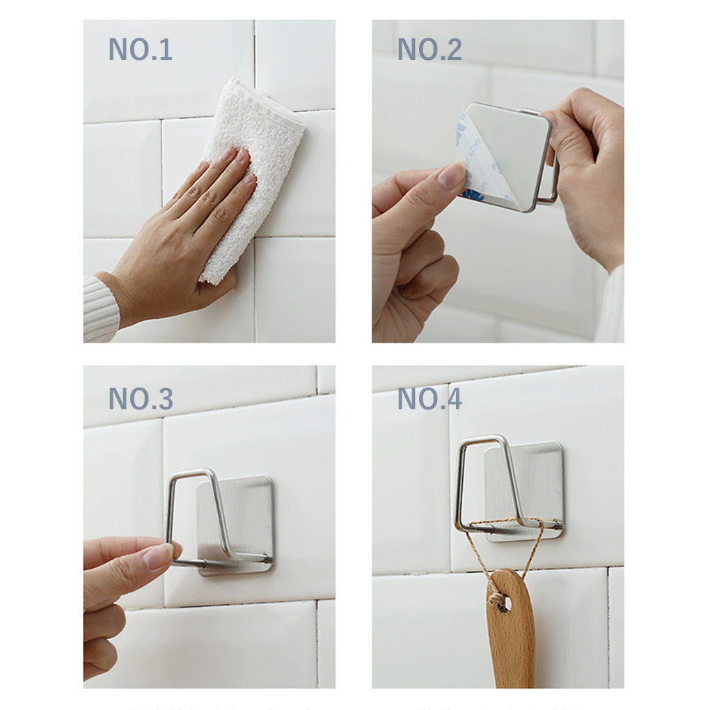 Kitchen Stainless Steel Sponges Holder Self Adhesive Sink Sponges Drain Drying Rack Kitchen Sink Accessories Storage Organizer