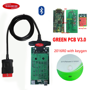 Image 4 - 2019 Newest 16R0 with keygen for delphis vd ds150e c d p bluetooth V3.0 car truck vd tcs cdp obd obd2 Scanner+car truck cables.