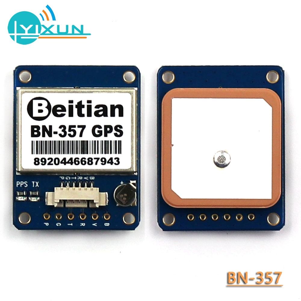 BEITIAN, High-precision GPS Module + Ceramic Antenna, 1PPS TTL Level 9600bps, GNSS GLONASS GPS Beidou Module With FLASH, BN-357