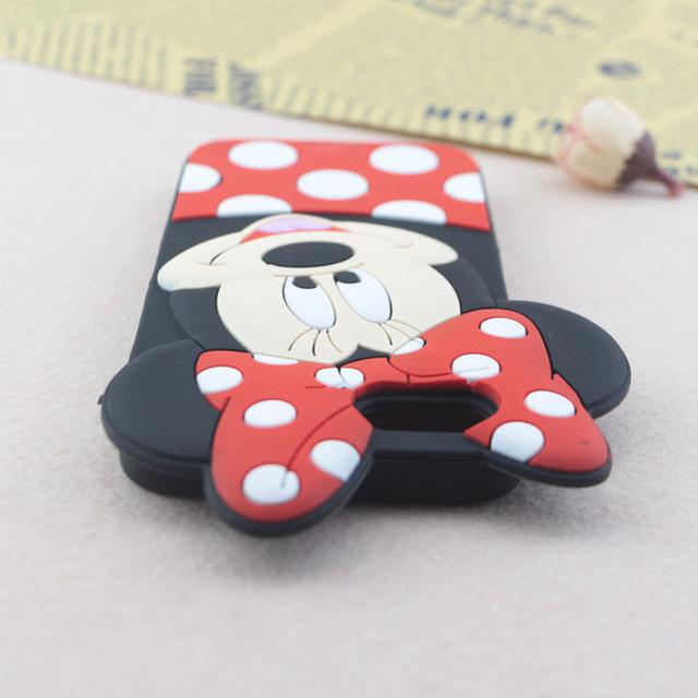 Cute 3D Cartoon Minnie Case for iPhone