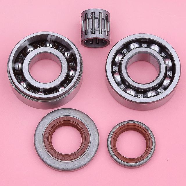Crankshaft Crank Bearing Oil Seals Kit For Stihl MS361 MS 361 Chainsaws Parts 9503 003 4266 9503 003 0354